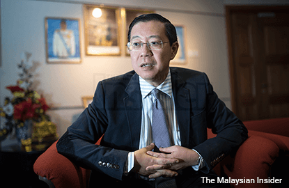 Gani Patail still A-G if he didn't resign, Guan Eng says