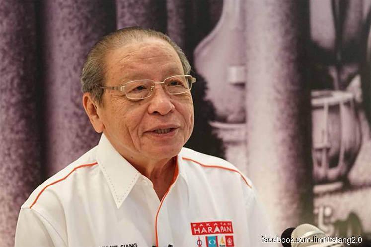 Dapsy lodges police report over death threat on Lim Kit Siang