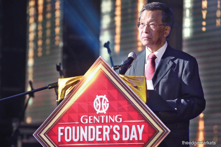 Lim Kok Thay confident Genting will be picked for Japan casino