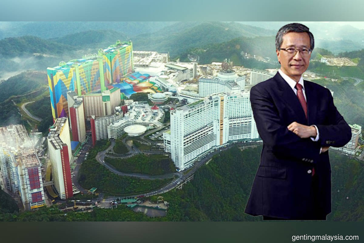 Genting chairman Lim Kok Thay says gaming market registered nascent recovery