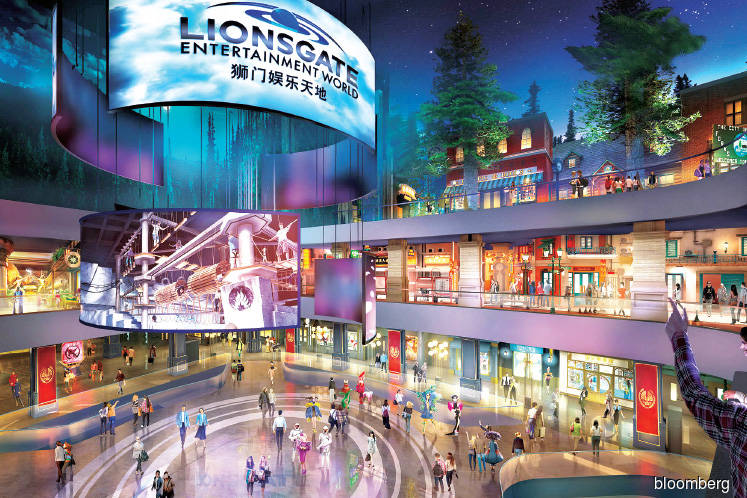 Entertainment: Hunger Games ride anchors edgy, new adult theme park in China