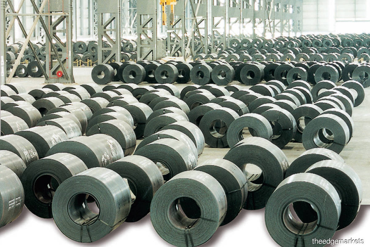 Hot rolled coils are a key raw material for producing flat steel products, used to make electronic appliances such as fridges and washing machines. (Photo by Lion Industries)