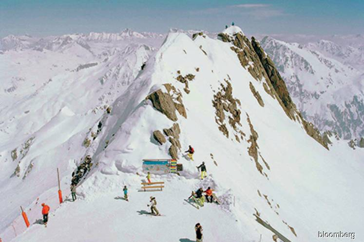 Egyptian billionaire-resurrected skiing paradise