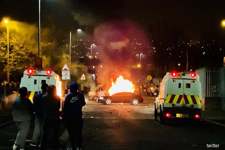Woman killed after shots fired in Londonderry riot