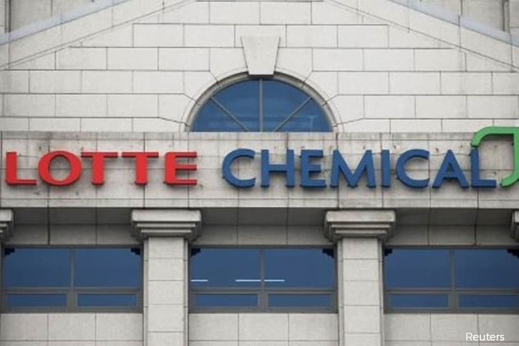 Lotte Chemical Titan jumps 8.51%, warrants actively traded