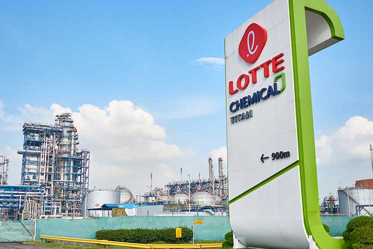 Hit by margin squeeze, Lotte Chemical Titan sinks into the red in 1Q
