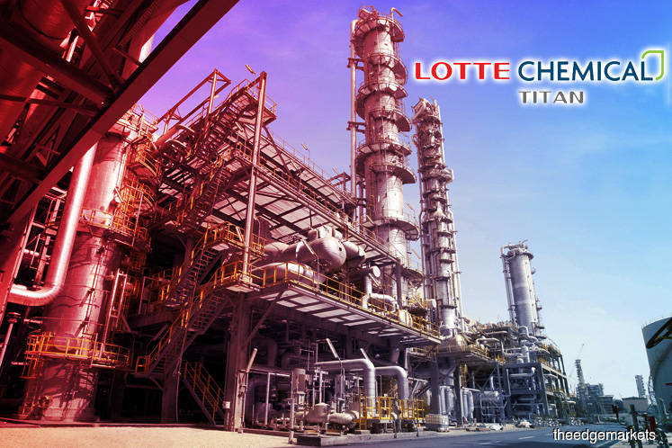 Lotte Chemical Titan falls 2.45% on slump in 1Q earnings