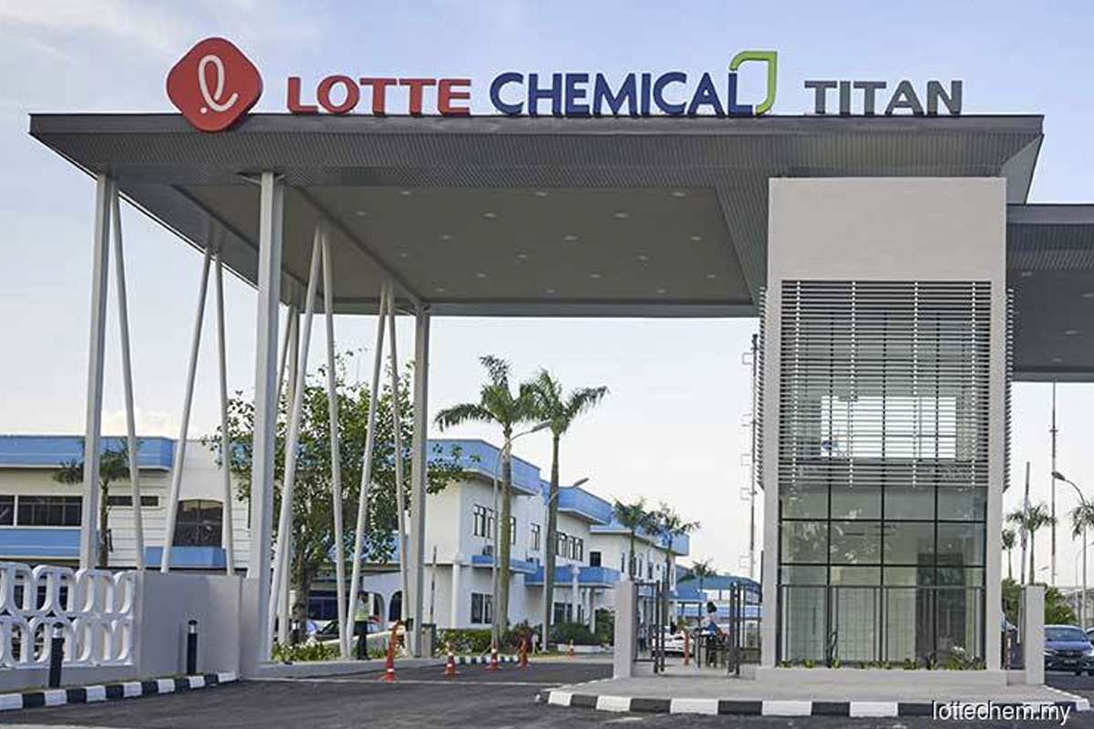 Lotte Chemical Titan records highest-ever quarterly profit in 1Q from loss a year earlier