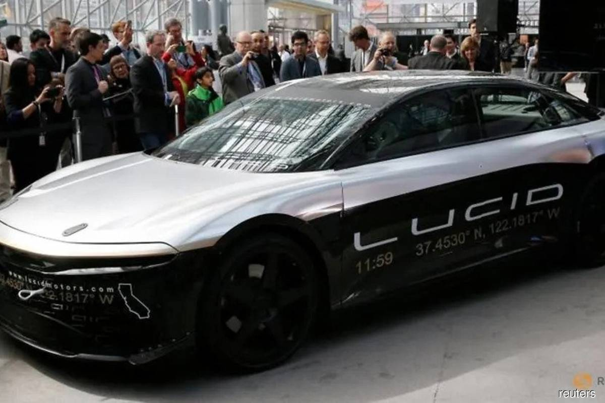 Lucid Motors' US$24 bil blank-check deal sparks bubble concerns