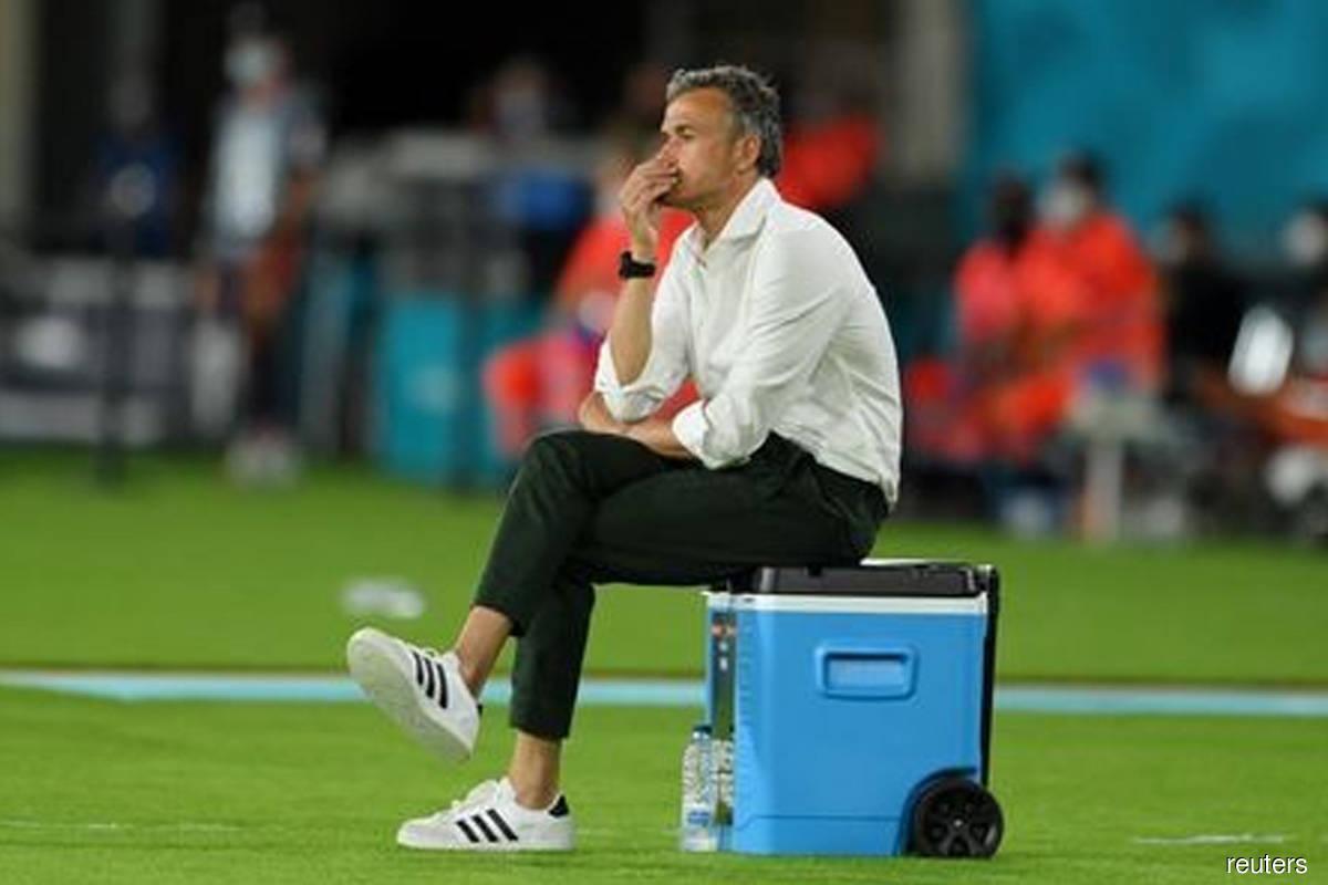 Spain's Luis Enrique rues missed chances but defends game plan