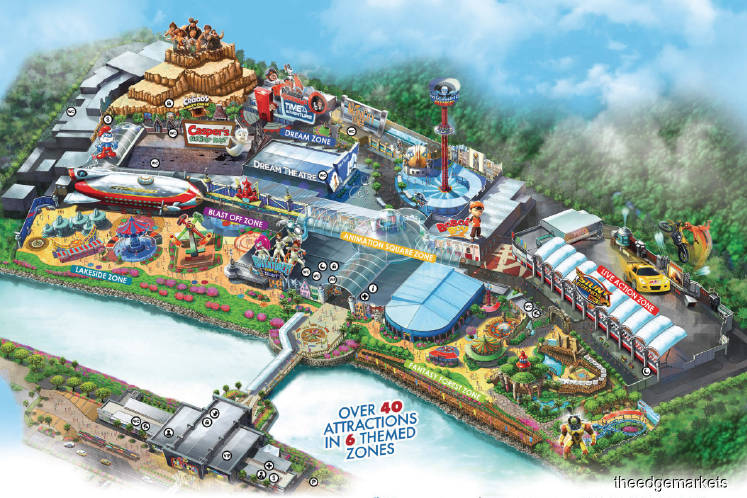 Perak Corp Keen To Offload Ailing Theme Park The Edge Markets