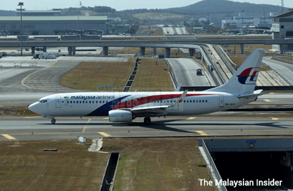 London-bound MAS flight turns back after engine trouble