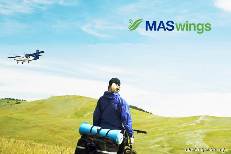 Maswings aircraft skids off runway at Miri airport