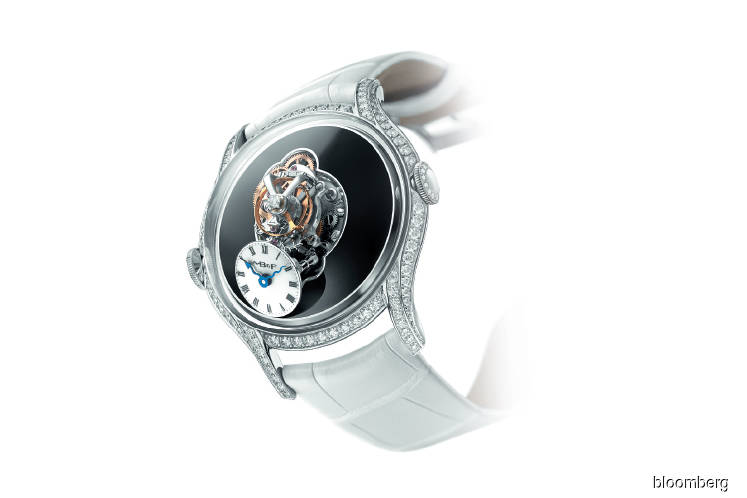Eight extremely complicated women's wristwatches