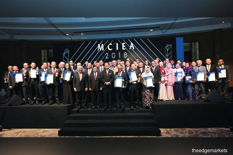 WCT, Mitrajaya, IJM take home prizes at MCIEA 2018