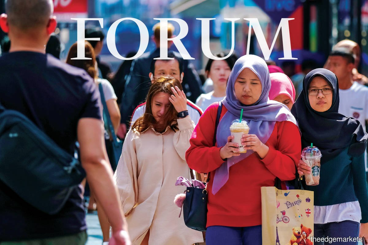 At 40% of the total population, the size of the middle class in Malaysia is small