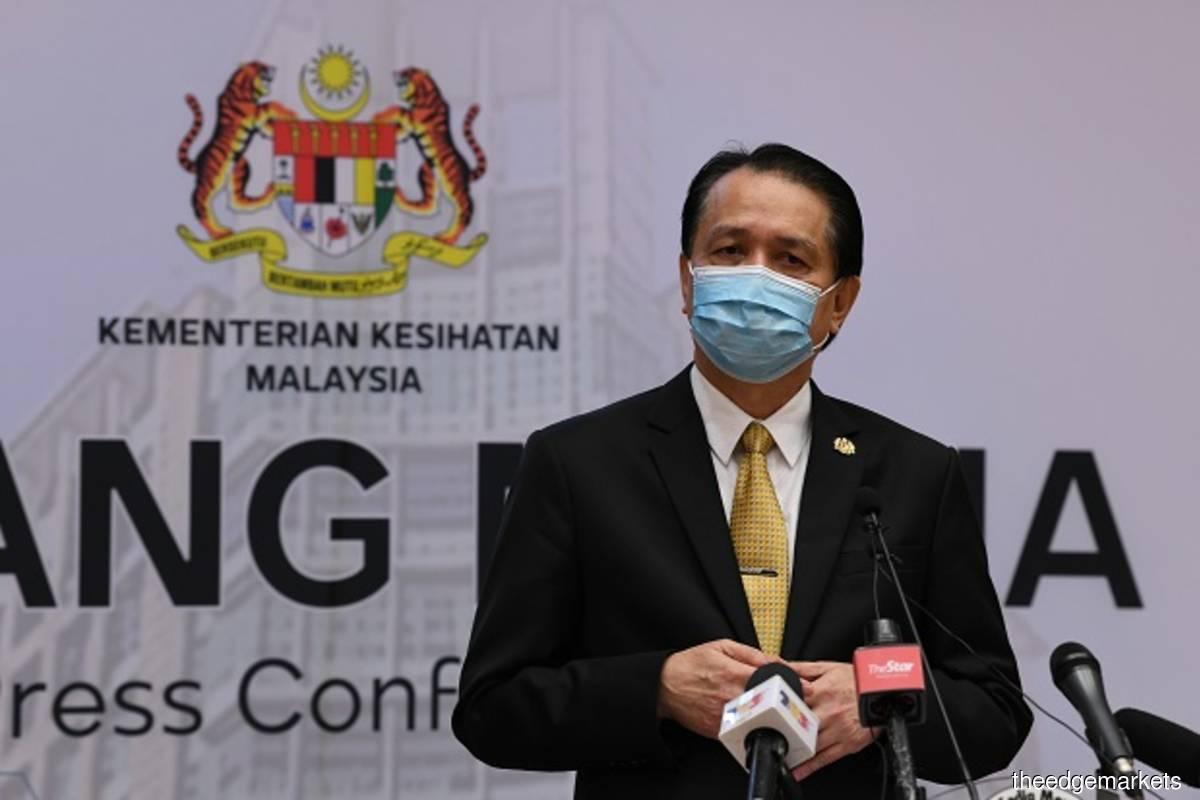 Health director-general Tan Sri Dr Noor Hisham Abdullah (The Edge filepix by Sam Fong)
