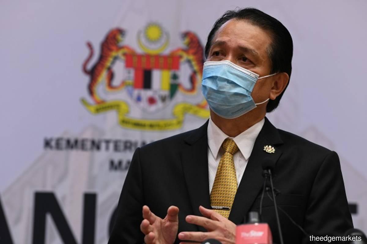 Health Director General Tan Sri Dr Noor Hisham Abdullah (Photo by Sam Fong/The Edge filepix)