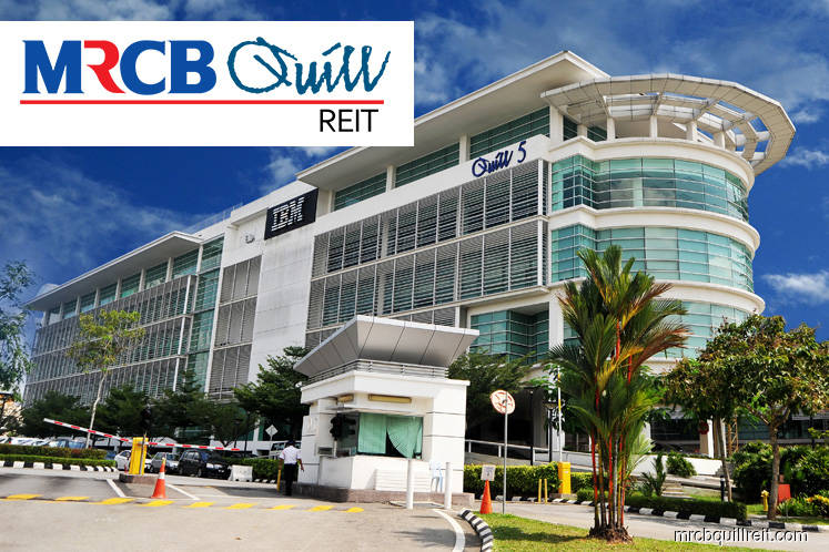 MRCB-Quill REIT 4Q net loss at RM24m, plans 3.37 sen distribution