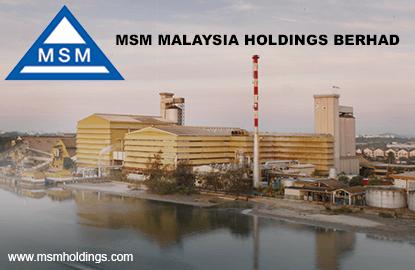 MSM's 3Q net profit up 33.2% y-o-y on lower raw sugar price, declares 12 sen dividend