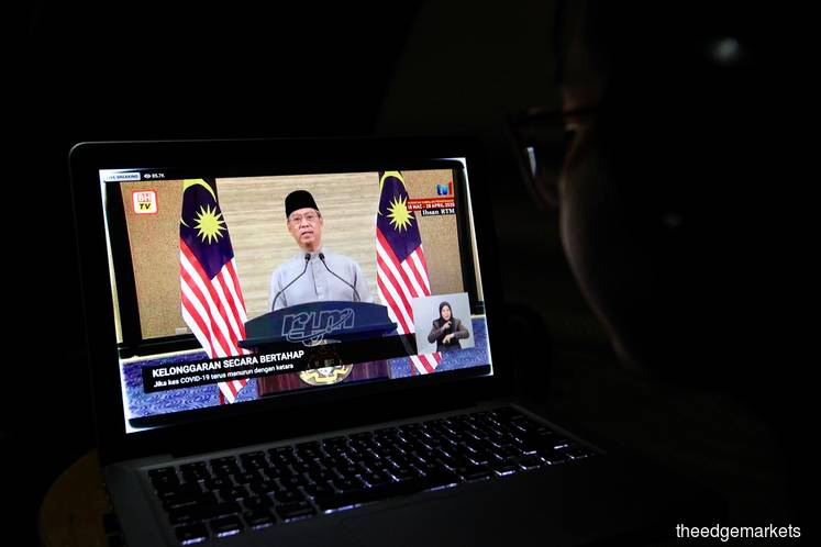 Muhyiddin's second live telecast in a week gives hope to MCO relaxation