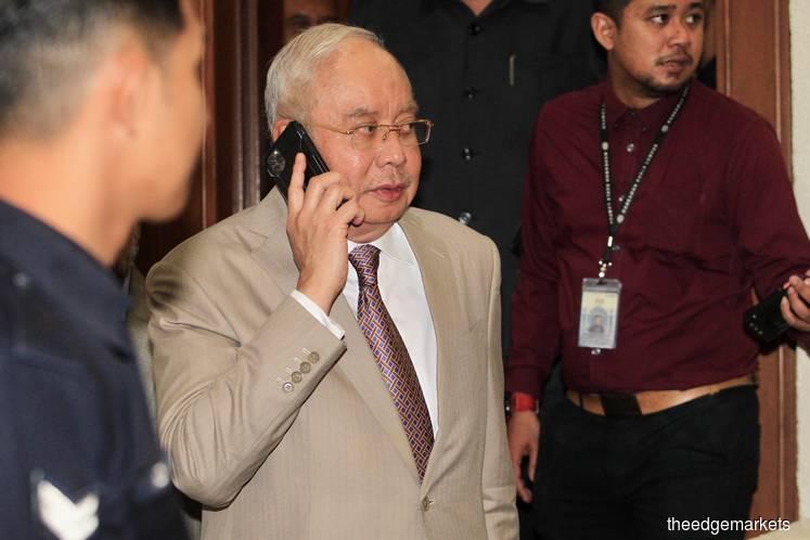 Datuk Seri Najib Razak (Photo by Shahrin Yahya/The Edge)