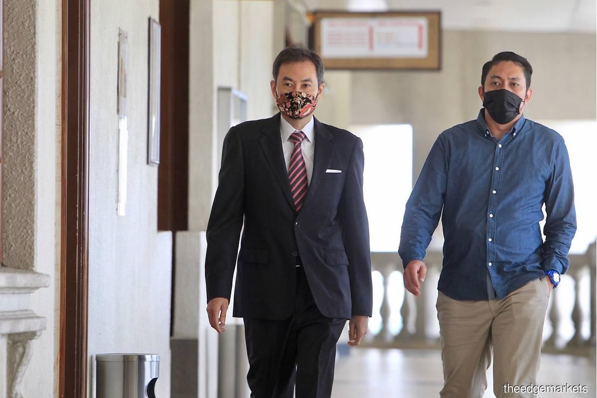 Former 1MDB CEO Datuk Shahrol Azral Ibrahim Halmi (left) (Photo by Shahrin Yahya/The Edge)