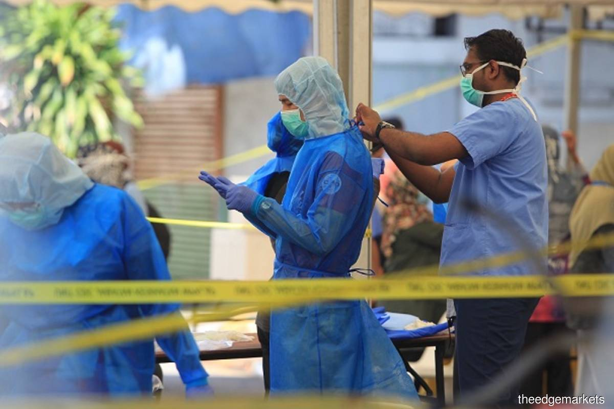 Malaysia records 822 new Covid-19 cases, three new clusters detected in Sabah