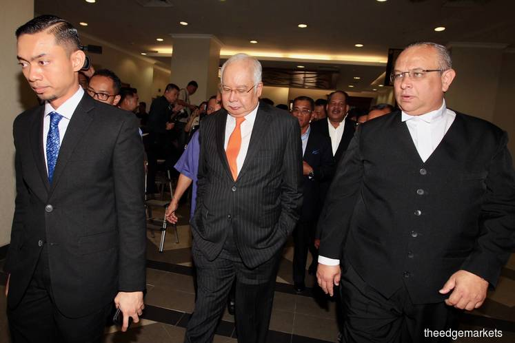 High Court orders Najib to enter defence in SRC case