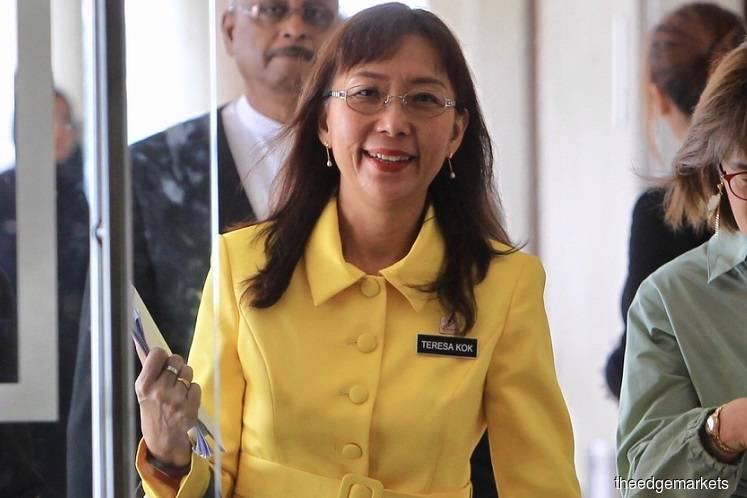 Special committee to manage CPO windfall tax trust account — Teresa Kok