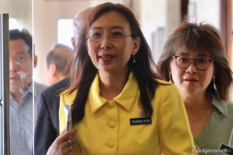Teresa Kok continues duty as usual in Sabah