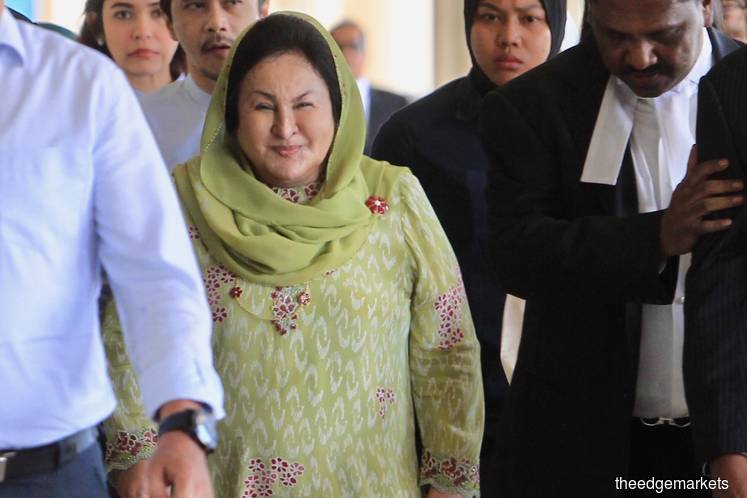 Rosmah: My lawyers are looking into recordings