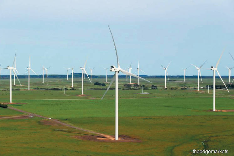 Selling of wind farm in Australia seen positive move for Malakoff
