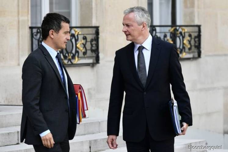 Macron's finance and budget ministers receive death threats