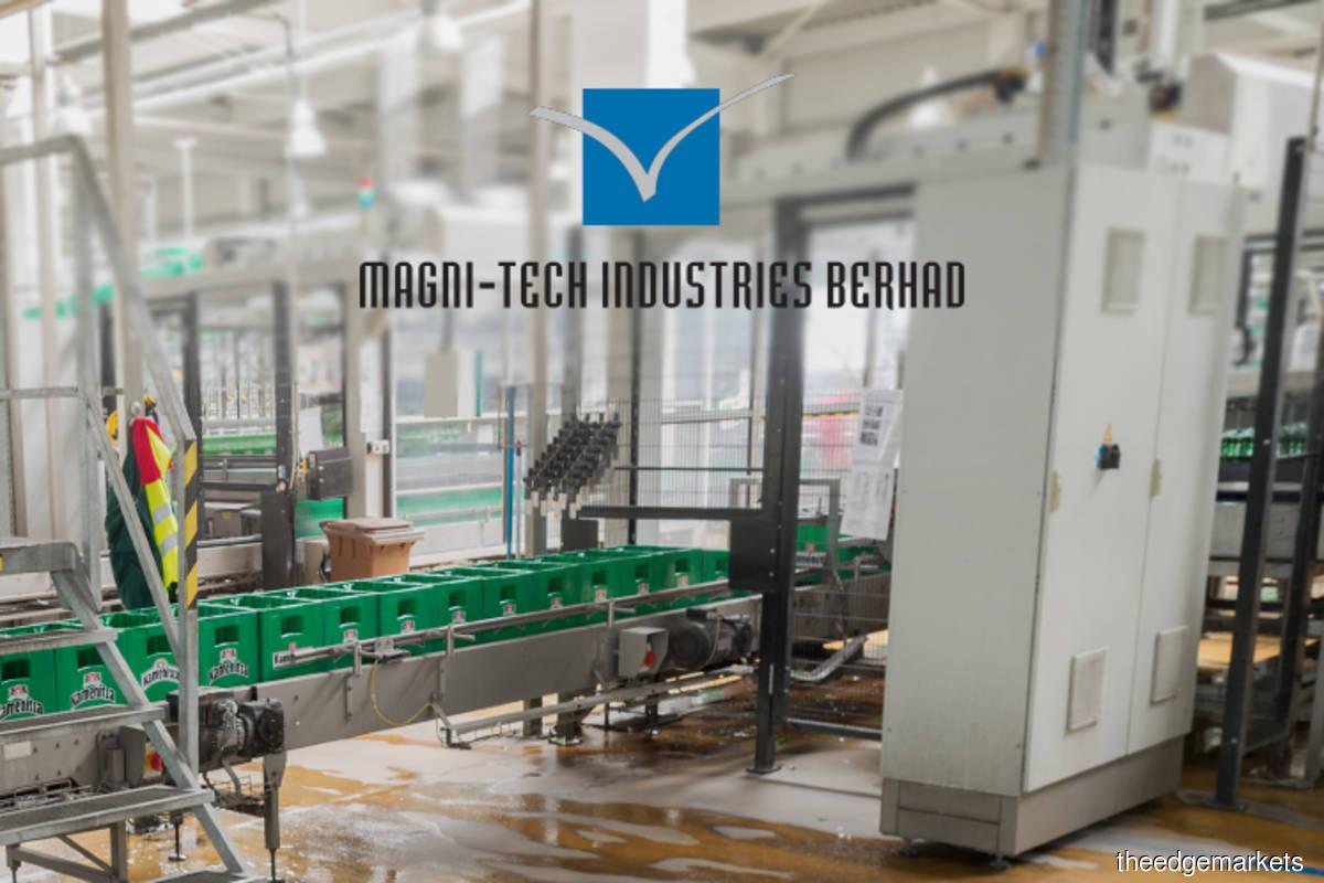 Magni-Tech falls as much as 8.05% as 2Q earnings drop 30%