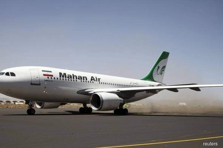 U.S. sanctions Malaysia-based agent for Iran's Mahan Air