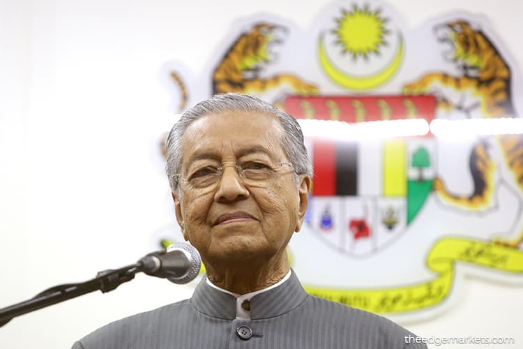 Opportunities only for those who produce results - Dr Mahathir