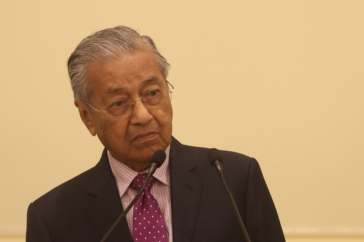 Mahathir wants to form a new political party
