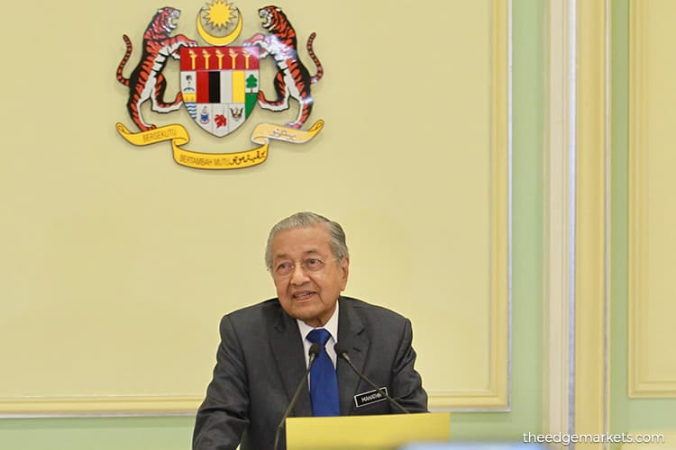 Dr Mahathir : Government still awaiting chief justice appointment consent