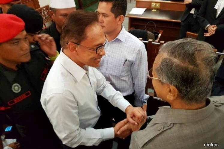 Anwar's release 'a landmark moment for human rights', says Amnesty International
