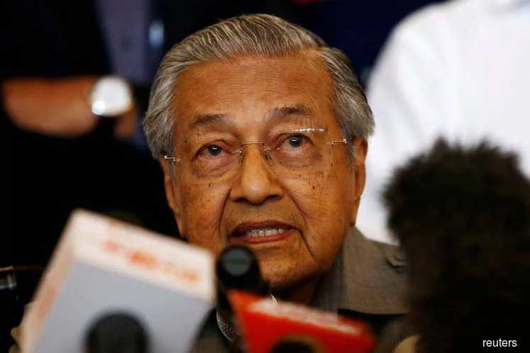 Dr Mahathir arrives in Kuching to attend 2019 Malaysia Day celebration