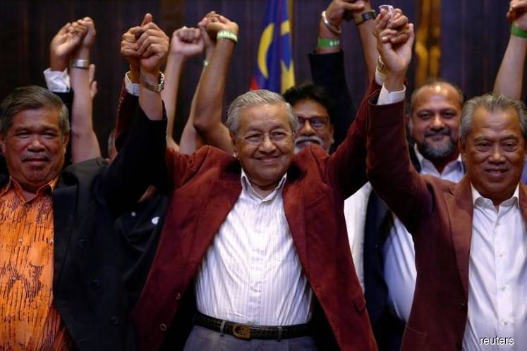 Mahathir won't be sworn in as Malaysia prime minister on Thursday