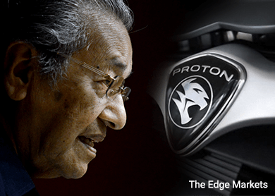 Flash: Proton signs MoU with Japan's Suzuki to explore going into compact and small cars segment, says Proton chairman Dr Mahathir