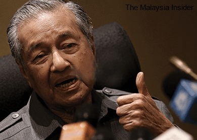 Dr Mahathir questions if Najib behind A-G's clearance of 1MDB