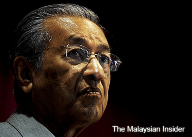 'Red shirt' rally does not champion the Malays, says Dr Mahathir