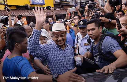 Police to call Dr Mahathir over Bersih 4 attendance