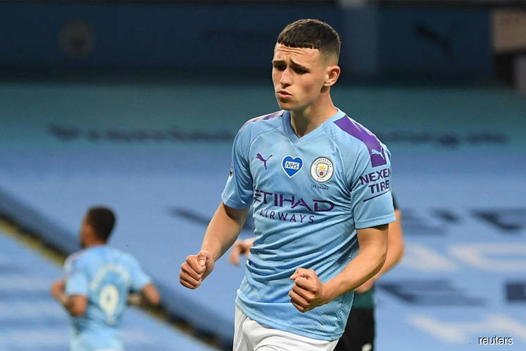 Foden and Mahrez doubles help City crush Burnley 5-0