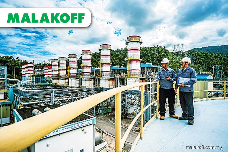 Lower FY19 net debt, gearing of one times estimated for Malakoff