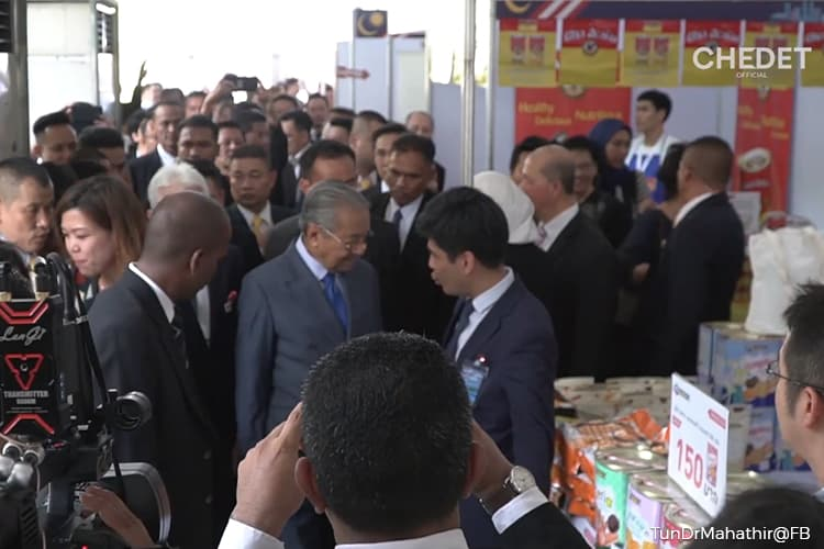 Dr Mahathir launches Malaysia Fest 2019 in Bangkok