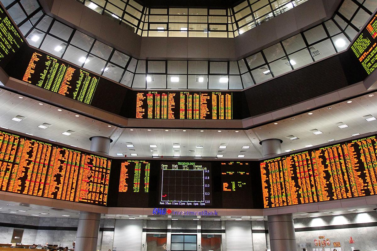 Credit Suisse targets FBM KLCI to end 2021 at 1,795 points